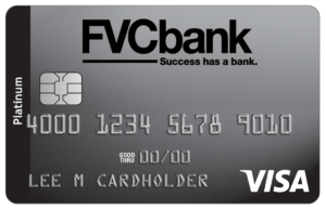 FVCbank platinum personal credit card