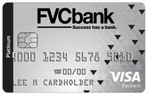 FVCbank Business Edition Credit Card